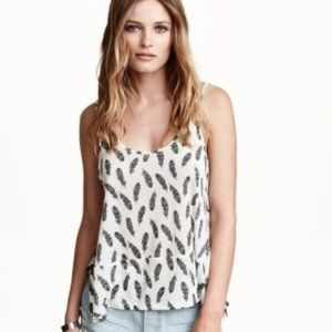 H&M Feather Tank NWOT